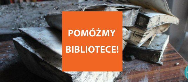 Zbiórka książek dla zniszczonej Biblioteki w Cieszynie